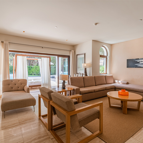 Pine Cliffs Villa Living Room