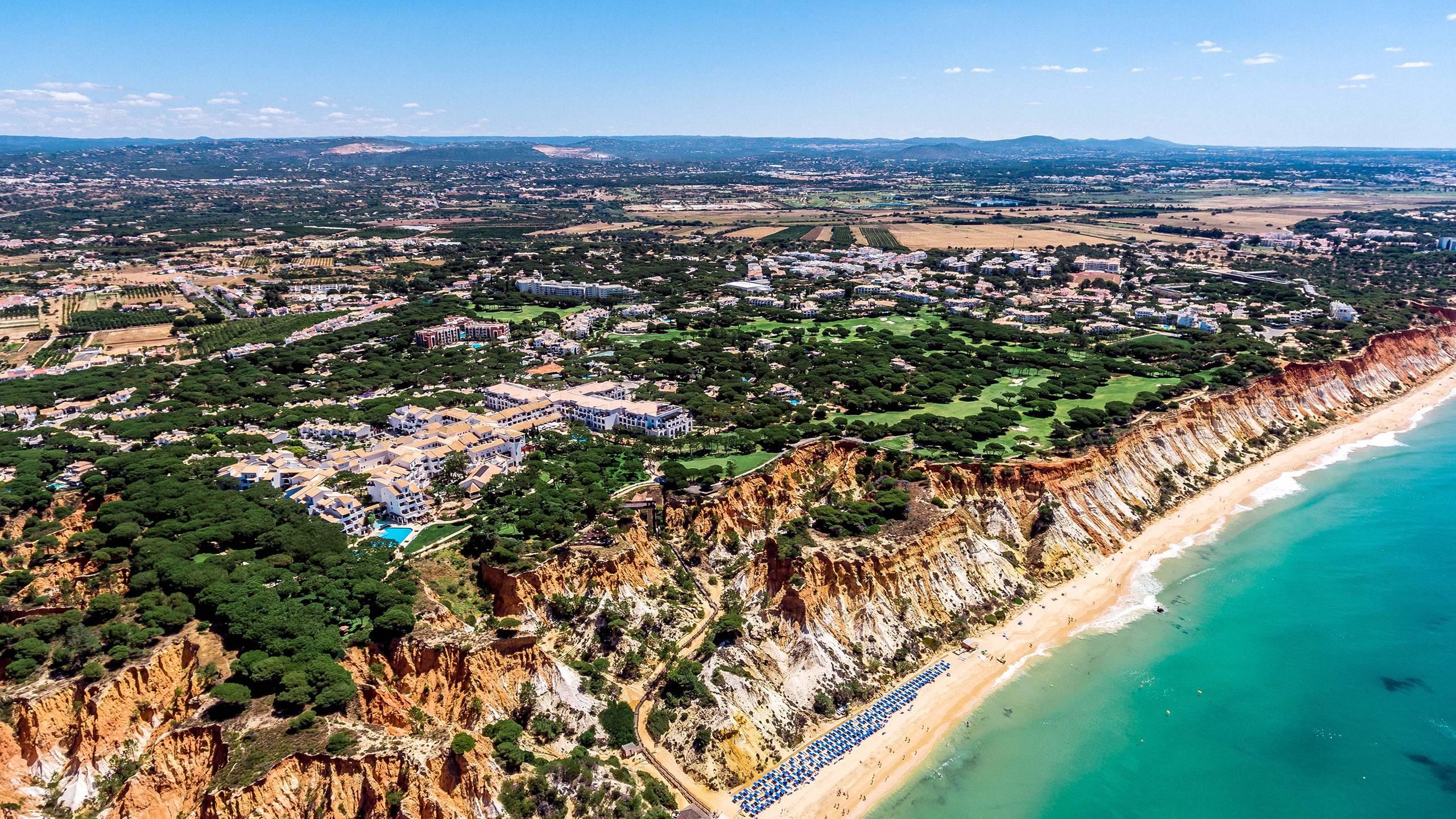 Faro Algarve Karta.Pine Cliffs Pine Cliffs