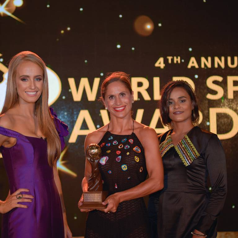 SERENITY AT THE WORLD LUXURY SPA AWARDS 2018