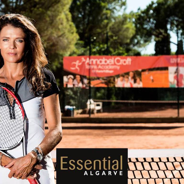 Annabel Croft, the otherside of the game