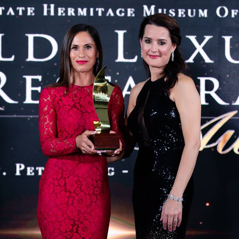 "SERENITY IS THE ""BEST DESTINATION OF SPA DE LUXE ""OF EUROPE"